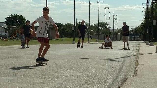 En el skate