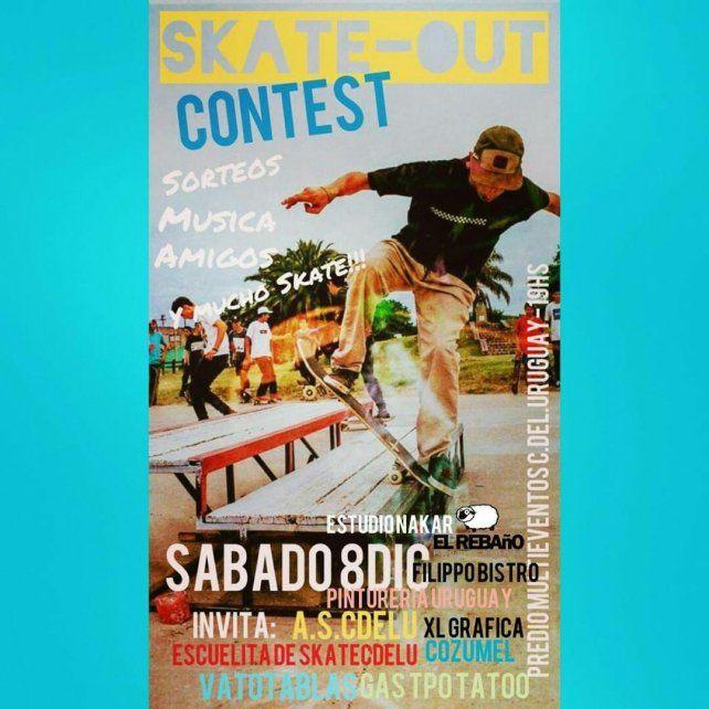 Todo listo para el Skate OUT del sábado en Concepción del Uruguay