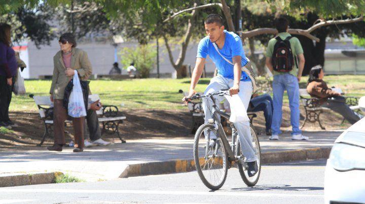 El uso de la bici como medio de transporte. 27/01/2011.