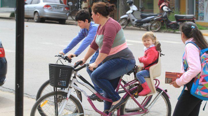 La bicicleta como medio de transporte en San Salvador.09/10/2017