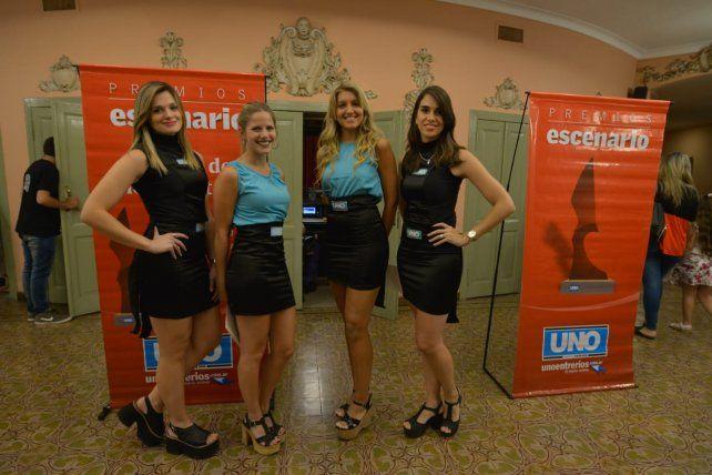 Los premios Escenario en el teatro 3 de Febrero.