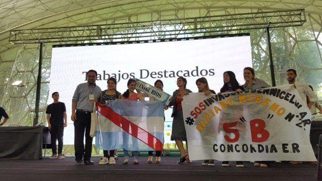 Impronta. La titular del CGE destacó el nivel de premiaciones en la Feria Nacional de Innovación Educativa.