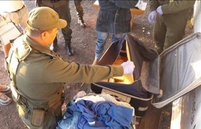Entre Ríos: Decomisaron más de 10 kilos de marihuana ocultas en una valija, en un micro