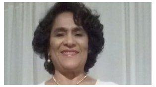 La víctima. Se alertó que la mujer salió gritando y cayó muerta en la vereda. Foto: Chajarí Al Día