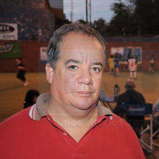 La víctima. La Fuente era muy reconocido en la parte deportiva y empresaria de Paraná.