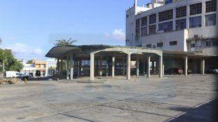 Proyecto. Los vehículos que ocupaban el predio fueron trasladados a un nuevo depósito municipal.