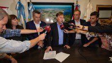varisco oficializo los acuerdos salariales con los gremios municipales