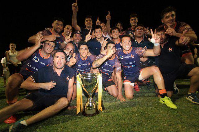 El monarca. Tucumán llega a Paraná con ganas de repetir el título alcanzado el año pasado.