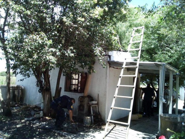 Susto. En la casa de Las Tunas hubo una explosión interna.