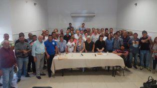 Galimberti. Alternativa Radical se reunió ayer en Villaguay y avaló la postulación del intendente de Chajarí.