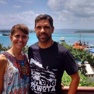 Experiencia. Gisela y Raúl actualmente residen en Port Vila.