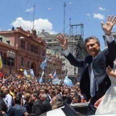 Aniversario. Hace tres años Mauricio Macri llegaba a la Casa Rosada con una marcada expectativa.