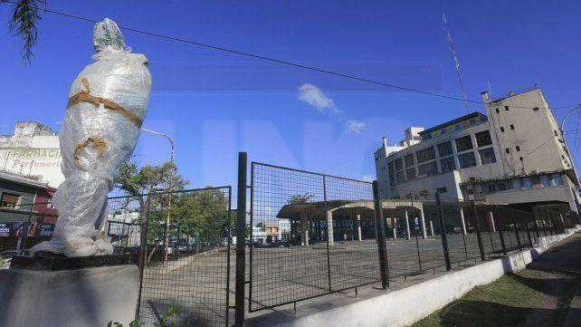 Con la figura de Alfonsín se habilitará un espacio público en la exterminal