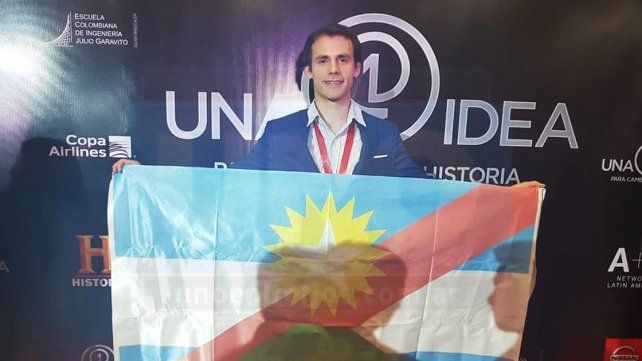 Joven entrerriano obtuvo el cuarto lugar con sus plantillas para personas diabéticas