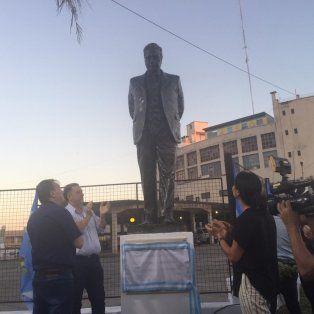 Sergio Varisco encabezó el acto homenaje al expresidente Raúl Alfonsín