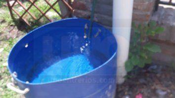 vecinos de zona base aerea advierten que desde el sabado estan sin agua