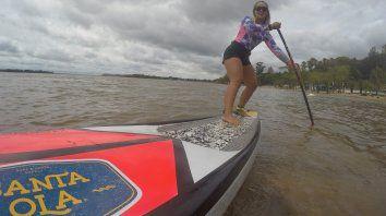 Juliette dará clases en Mar del Plata en donde aprovechará para entrenar con olas.