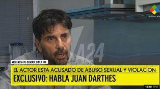 Juan Darthes se victimiza: Ella se me insinuó