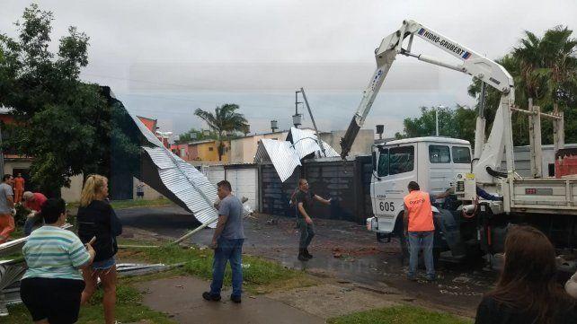La provincia releva las necesidades para brindar asistencia tras el temporal