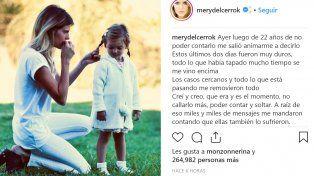 María del Cerro reveló quiénes la abusaron de niña