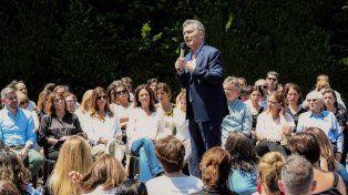 Macri. Son más de 200 medidas consensuadas