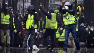 Tensión en París por otra marcha de chalecos amarillos