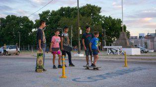El semillero del skate en Concepción del Uruguay.