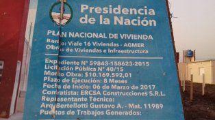 Docentes denunciaron irregularidades en el otorgamiento de viviendas en Viale