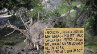 Rendengas mandó una cuadrilla para inspeccionar los daños.