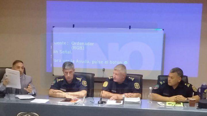 Contra la violencia deportiva. Autoridades policiales informaron los alcances de las modificaciones.