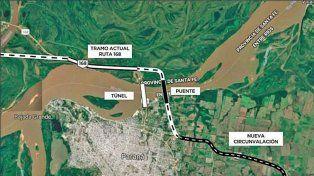 El riesgo país y la falta de crédito frenan el puente a Santa Fe y la nueva Circunvalación
