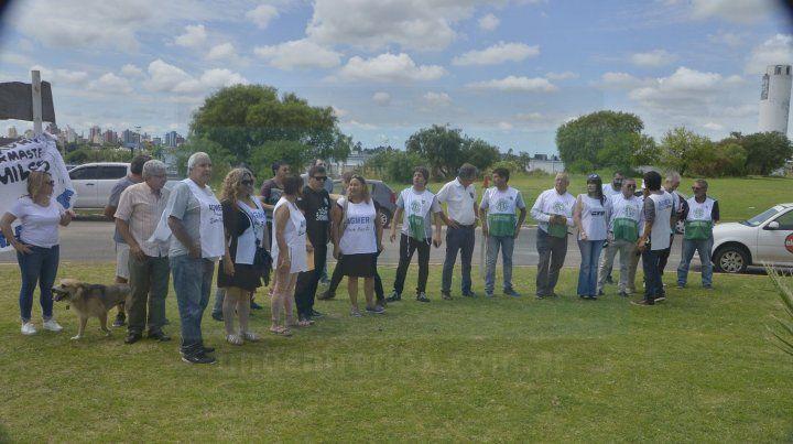 A 17 años de la represión de  2001, homenajearon a las víctimas en Paraná