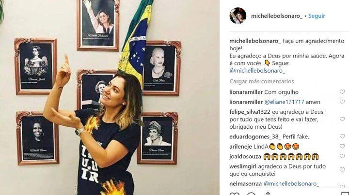 La esposa de Jair Bolsonaro admira a Eva o a Nacha?