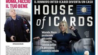Los medios italianos acusan a Wanda Nara