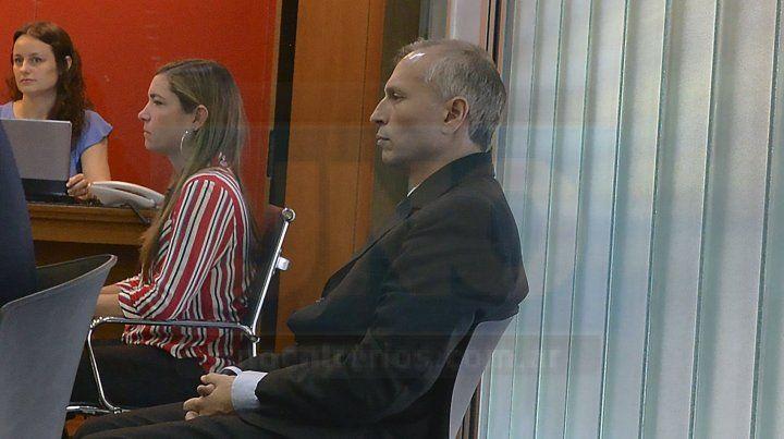 Monólogo. Marín esperó a que acabara la etapa de testimoniales y habló durante más de media hora.