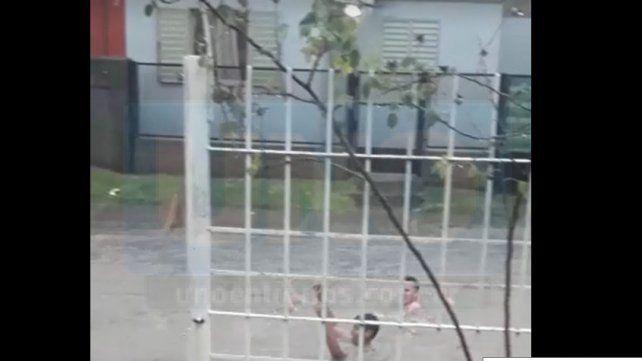 La tormenta se hizo sentir en varias ciudades de Entre Ríos