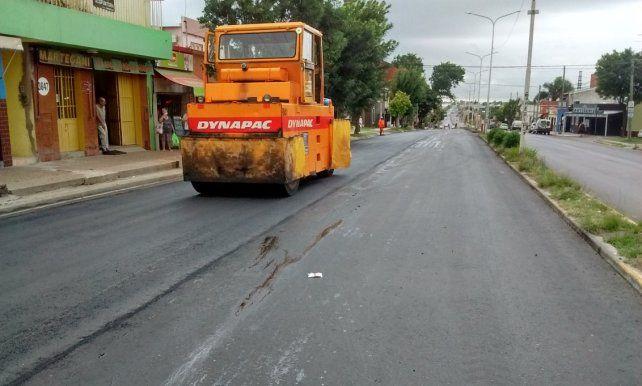 Concluyó el reasfaltado y rehabilitación de Avenida Ramírez sur