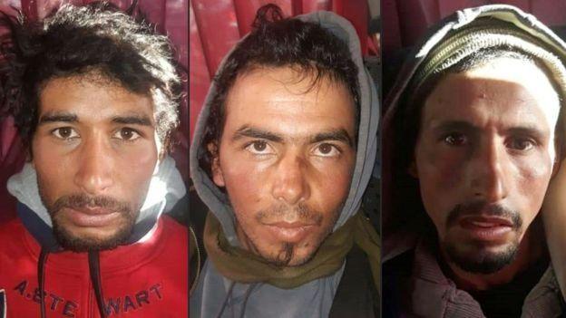 Las autoridades capturaron a Rachid Afatti, Ouziad Younes y Ejjoud Abdessamad como sospechosos del asesinato de las dos mujeres.