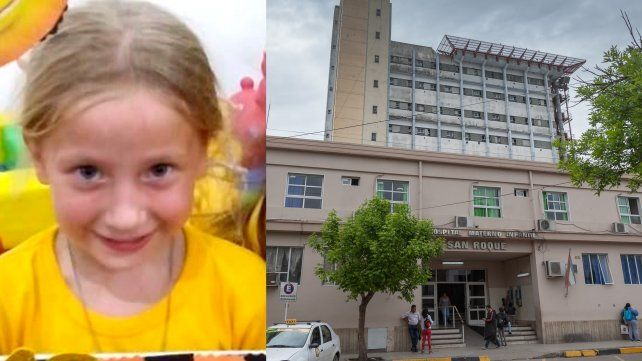 Joaquina se recupera y organizan una colecta solidaria para el Hospital San Roque