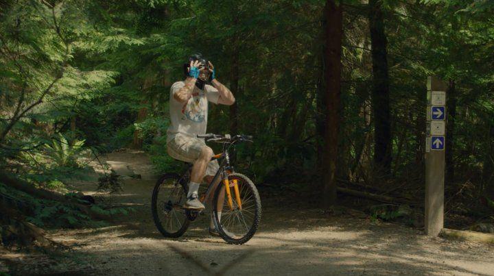 El momento en que decidís volver a subirte a una bicicleta.