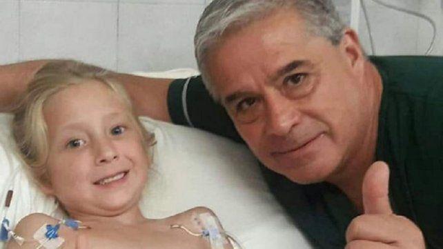 Joaquina conoció al médico que le salvó la vida