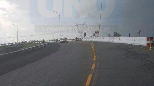 Se habilitó el cruce de las rutas 12 y 14, en cercanías de Ceibas
