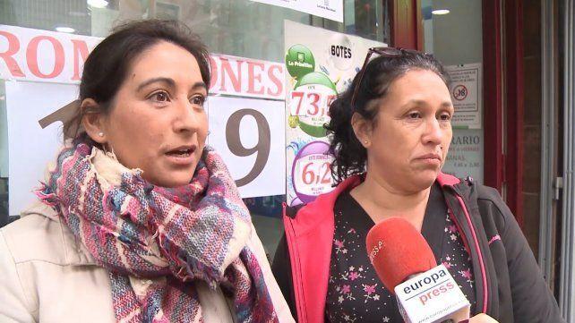 inexplicable. Las argentinas hablaron con la agencia Europa Press