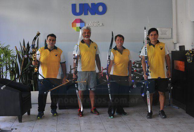 Buenos representantes. Los arqueros de Paraná fueron parte de la Final Nacional en Catamarca y lo hicieron de gran forma