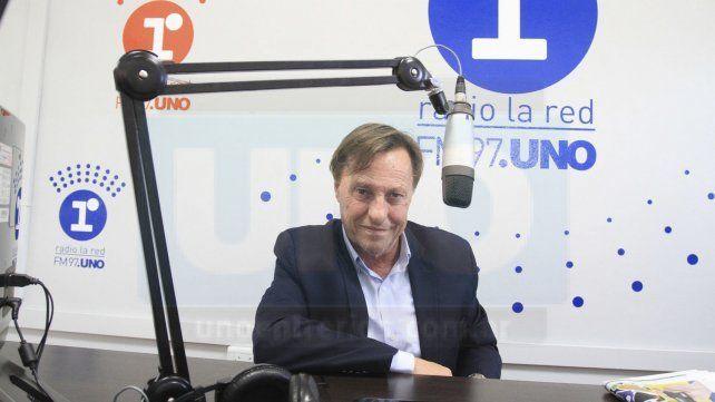 El intendente de Paraná sufrió una afección coronaria y hay expectativa por su evolución