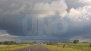Alerta por tormentas fuertes con ráfagas y caída de granizo para la región