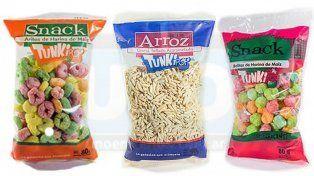 Anmat prohibió en todo el país la venta de una marca de semillas de girasol y tres snacks