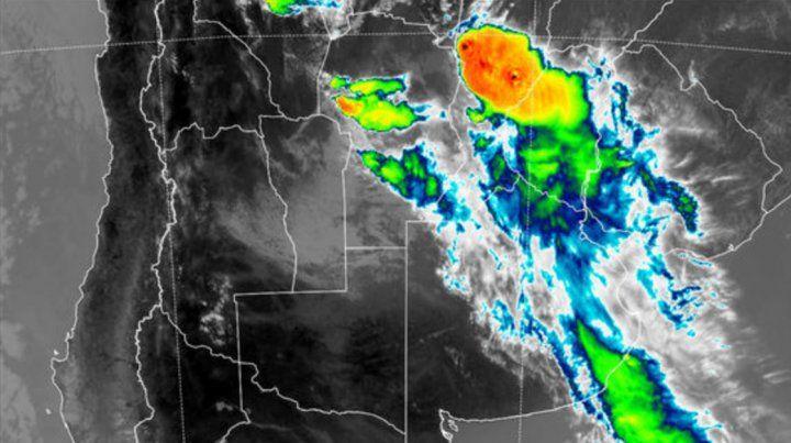Rige un nuevo alerta por tormentas para Entre Ríos y otras provincias