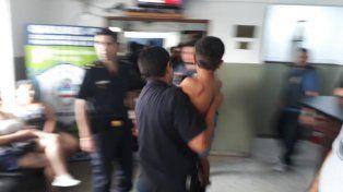 La foto que difundió la policía bonaerense.