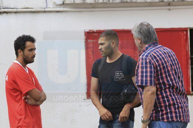 Cristian Taborda ya entrenó con el Decano
